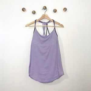 Lululemon Lighten Up Tank with Bra 8